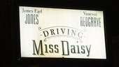 Driving Miss Daisy Opening Night – marquee