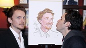 Jason Danieley Sardi's Caricature – Jason Danieley – Adam Chanler-Berat