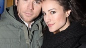 Spiderman preview -   Christian Campbell and wife America Olivo