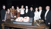 Phantom of the Opera 23rd Anniversary  stars with cake