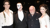 Phantom of the Opera 23rd Anniversary  Sean MacLaughlin  Hugh Panaro  Harold Prince  Sara Jean Ford