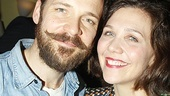 Married couple Peter Sarsgaard and Maggie Gyllenhaal are thrilled to be sharing the stage together.