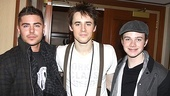 Spiderman Efron Zac Efron  Reeve Carney - Chris Colfer - 