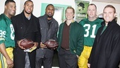 Lombardi Real Packers  Robert Christopher Riley  Ryan Grant  Charles Woodson  Bill Dawes- Chris Sullivan  John Kuhn