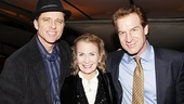 Maxwell Caulfield and Juliet Mills are pictured with first-nighter Kevin Kilner.