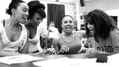Baby It's You Rehearsal – Erica Ash – Christina Sajous – Kyra Da Costa – Crystal Starr Knighton