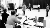 Baby It's You Rehearsal – rehearsal room