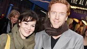 British acting couple Helen McCrory and Damian Lewis enjoy an afternoon on Broadway.