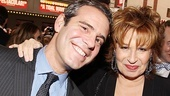Catch Me If You Can Opening Night  Andy Cohen  Joy Behar