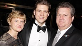Catch Me If You Can Opening Night  Aaron Tveit  parents