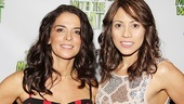 Motherf**ker Opening Night  Annabella Sciorra  Elizabeth Rodriguez
