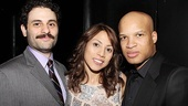 Motherf**ker Opening Night  Arian Moayed  Elizabeth Rodriguez  Glenn Davis