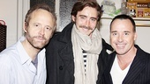 David Furnish at The Normal Heart – John Benjamin Hickey – Lee Pace – David Furnish