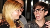 Glee NYC  Heather Morris  Kevin McHale