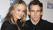 House of Blue Leaves Opening Night  Christine Taylor  Ben Stiller