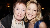 House of Blue Leaves Opening Night  Edie Falco  mother Judith