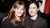 House of Blue Leaves Opening Night  Jennifer Jason Leigh  Phoebe Cates
