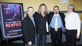 Memphis movie premiere  Joe DiPietro  David Bryan  Dan Diamond  Bruce Brandwen