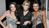 Baby Its You Opening Night  Kelli Barrett  Jane Fonda  Christina Sajous
