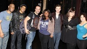 Glee Cast at Sister Act  group shot