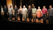 The 11-member cast of Tony Kushner's latest play takes a bow.