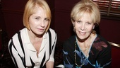 Lovely Ellen Barkin is delighted to be joining The Normal Heart producer Daryl Roth on the wall at Sardi's!