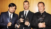 Hey, Robert Lopez, Matt Stone and Trey Parker: The Book of Mormon is the winner of nine Tony Awards!