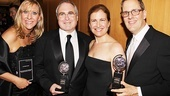 2011 Tony Awards Winners Circle  Sydney Beers, Todd Haimes - Julia Levy - Harold Wolpert 