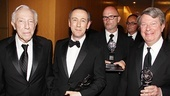 2011 Tony Awards Winners Circle  Bernard Gersten - Nicholas Hytner - Nick Stafford - Andre Bishop 