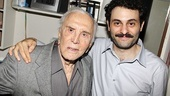Tony nominee Arian Moayed welcomes Kirk Douglas to Broadway.