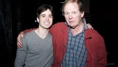 War Horse star Matt Doyle welcomes Michael Morpurgo to the Broadway company.