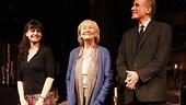 Carla Gugino, Rosemary Harris and Jim Dale take their official opening night bows.