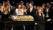 Gillian Lynne is thrilled to return to the Majestic Theatre for Phantom's 10,000th performance...and the cast is thrilled, too!