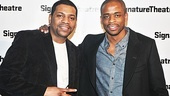Former Stick Fly stars Mekhi Phifer and Dule Hill are excited to check out Katori Hall's newest work.