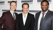 Ben Daniels, Adam James and David Aron Damane are the dashing men in the cast of Don't Dress For Dinner.