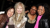 Love, Loss alums Didi Conn (Grease), Loretta Swit (MASH), Myra Lucretia Taylor (Nine) and Aisha de Haas (Caroline or Change) are thrilled to have been part of the acclaimed play.