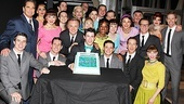 The company is thrilled to celebrate the one-year anniversary of How to Succeed on Broadway.