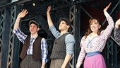 Newsies  Opening Night  Ben Fankhauser  Jeremy Jordan  Kara Lindsay