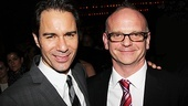 "Eric McCormack comes in close with The Best Man director Michael Wilson. ""What I love is [McCormack and the cast] have found the humanity in Gore's play,"" Wilson told Broadway.com."