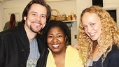 NaTasha Yvette Williams is all smiles with Jim Carrey and his lovely girlfriend Anastasia Vitkina.