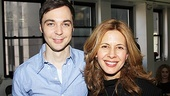Jim Parsons and Jessica Hecht play a squabbling brother and sister in the new revival of Harvey.