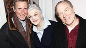 Broadway alum (and the voice of the Harry Potter audio books!) Jim Dale hangs out backstage with Best Man stars Angela Lansbury and Michael McKean.