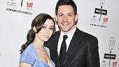 Check out Cristin Milioti and Steve Kazee in the Lortel Award-winning musical Once at its Broadway home, the Jacobs Theatre!