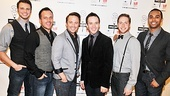 Lucille Lortel Awards  2012  Brad Greer  Travis Morin  Gabe Violett  Danny Calvert  Tim Young  Jesse Nager