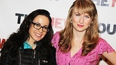 Stage and screen favorites Janeane Garofalo (Russian Transport) and Halley Feiffer (preparing to star in off-Broadway's Medieval Play) are proud to support the New Group.