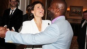 Obviously, Idina Menzel and Taye Diggs are having just as much fun as their guests!