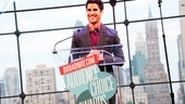Darren Criss welcomes the star-studded audience to the 13th annual Broadway.com Audience Awards. 