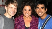 Marissa Jaret Winokur  NYC Press Tour  Andrew Keenan-Bolger  Marissa Jaret Winokur  Aaron J. Albano