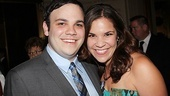 Michael Mendez is proud to have his sister, Godspell vet Lindsay Mendez, by his side on his Broadway debut!