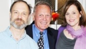 Look who else came out to see Christopher Durang's comedy: Tab Hunter, still looking awesome at age 81!